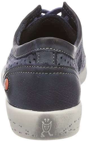 Softinos Ica388sof Washed, Sneaker Donna Blu (Navy)