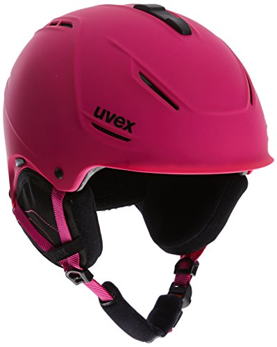 Uvex - Plus One - German Made Ski Helmet - Patented Plus Technology - small Adjustable 52cm To 55cm - Pink