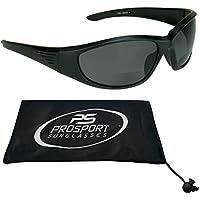 a76929fddab Polarized Bifocal Sunglasses for Men and Women. Premium TAC Polarized Lenses  and Sporty Wraparound Frame. proSPORTsunglass