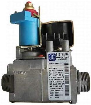 Válvula de gas Sit 845063 Sigma para calderas Immergas, Argo, Sime, Baxi
