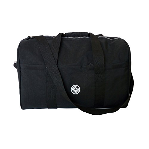 BINCCI Travel Duffel Bag Women Water Proof Nylon Trim Overni...