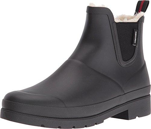 TRETORN Women's Lina Wnt Rain Boot, Black, 10 M US (Rain Boot Chelsea)