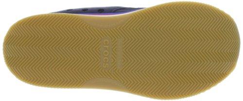 crocs Crocs Retro Sneaker W 14382-085 - Zapatillas de cuero para mujer Azul (Blau (Navy/Red 485))