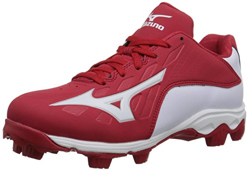 Mizuno 9 Spike ADV YTH FRHSE 8 RD-WH Youth Molded Cleat (Little Kid/Big Kid) – DiZiSports Store