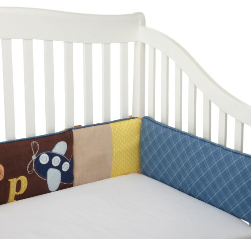 Cocalo Crib Bumper, A to Z Boy, Baby & Kids Zone