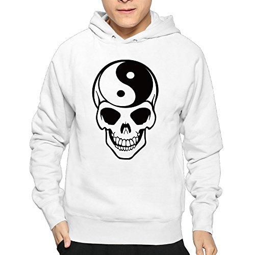 Men's Skull Hoodie Sweatshirt Funny Pullover