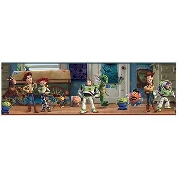 Amazoncom York Wallcoverings Disney Kids Dk5804bd Toy Story Andys
