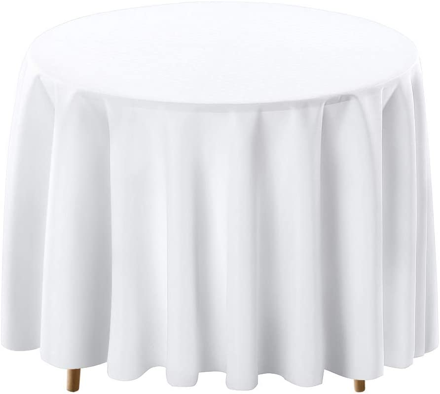 shop Surmente El Paso Mall Tablecloth 120 Inch Round Polyester Wed for Table Cloth