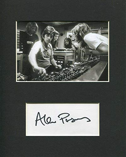 Autographs Beatles The - Alan Parsons Beatles Engineer Producer Signed Autograph Photo Display Pink Floyd
