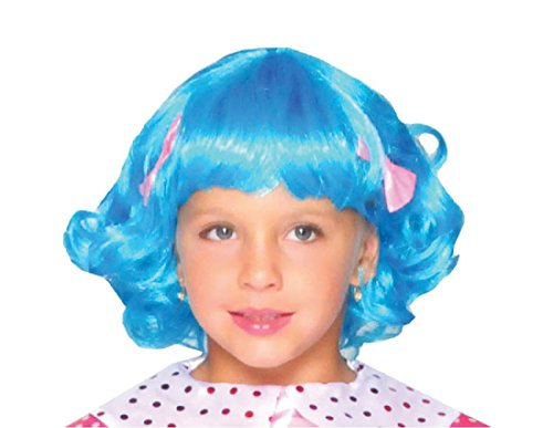 [Lalaloopsy Rosy Bumps Wig Child Accessory] (Lalaloopsy Rosy Bumps Wig)