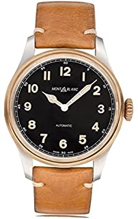 Montblanc 1858 Black Dial Automatic Mens Watch 116241