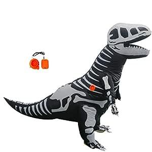LOVEPET Disfraz De Dinosaurio Inflable Halloween Christmas ...