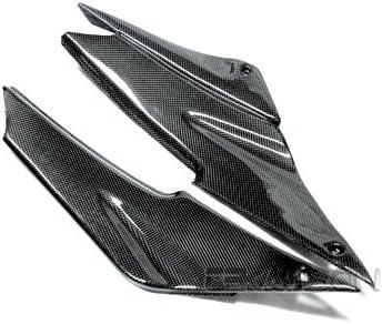 1x1 Plain 2007-2008 Kawasaki ZX6R Carbon Fiber V Panel