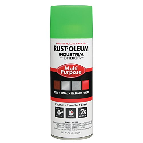 Industrial Spray Paint Fluor Green