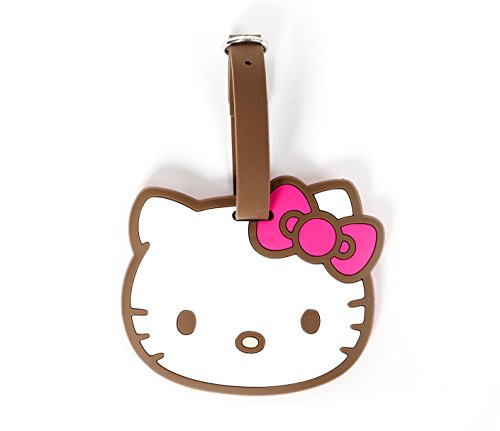 Hello Kitty Luggage Tag: Brown (Hello Kitty Luggage Tag)