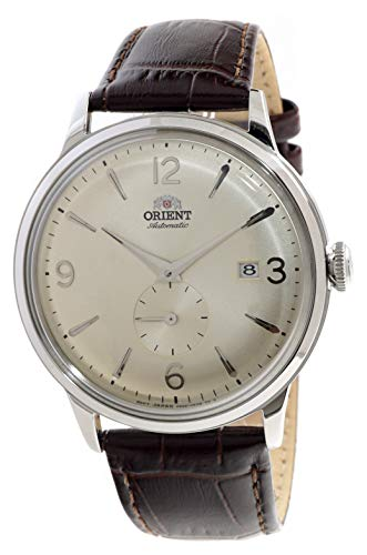 Orient Bambino Mechanical Classic Vintage Small Sub Seconds Champagne AP0003S