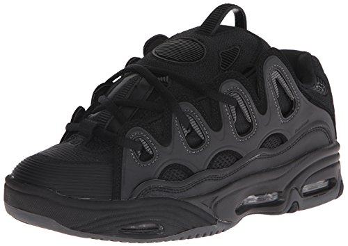 OSIRIS D3 2001 black charcoal black Negro - negro