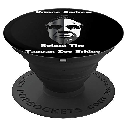 New York Governor Andrew Cuomo Tappan Zee Bridge - PopSockets Grip and Stand for Phones and Tablets - Andrews Bridge
