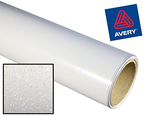 Avery High Gloss Metallic Glitter Vinyl Adhesive Vinyl 12