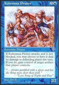 Magic: the Gathering - Kukemssa Pirates - Mirage