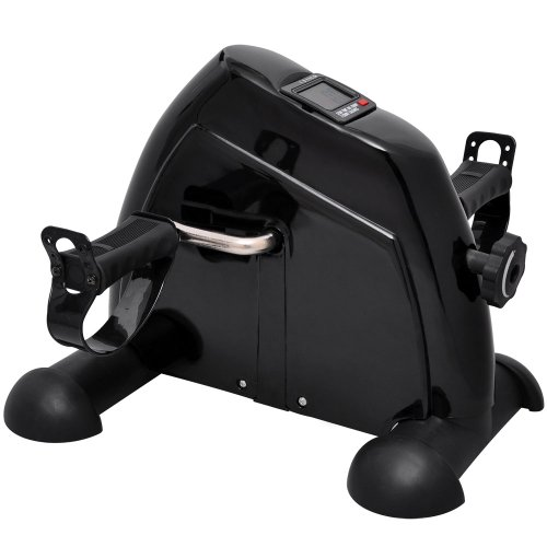 GC Global Direct Miniature Pedal Exercise Machine: Suitable for Lower or Upper Body (Black) by GC Global Direct