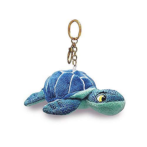 (Welcome to the Islands Key Chain Plush Honu Turtle Blue 4.4 W x 2.2 inch H)
