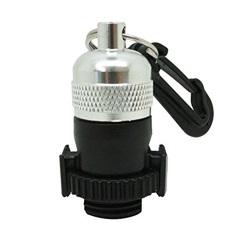 Scuba Diving Magnetic Regulator Octopus Hose Holder Clip (Silver) -