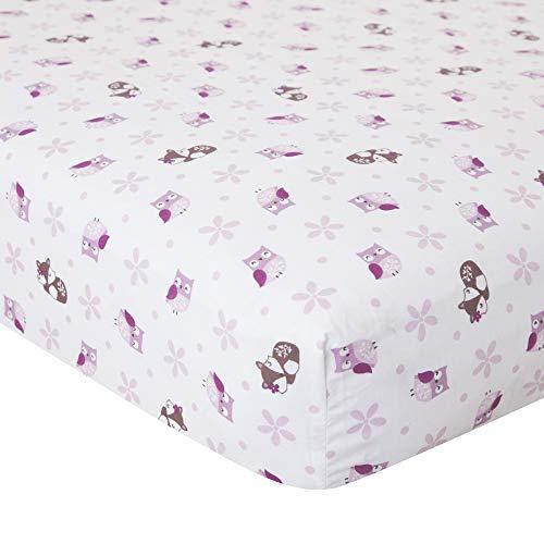 Bedtime Originals By Lambs & Ivy Sheets - Bedtime Originals Lavender Woods Crib Sheet