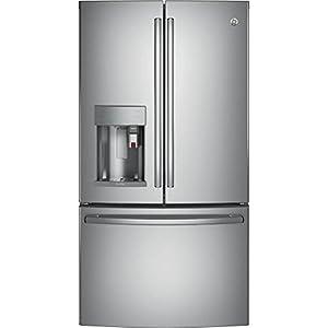 "GE Profile PYE22PSKSS 36"" Counter Depth French Door Refrigerator"