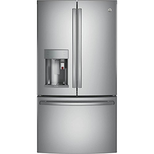 GE Profile PYE22PSKSS 36' Counter Depth French Door Refrigerator