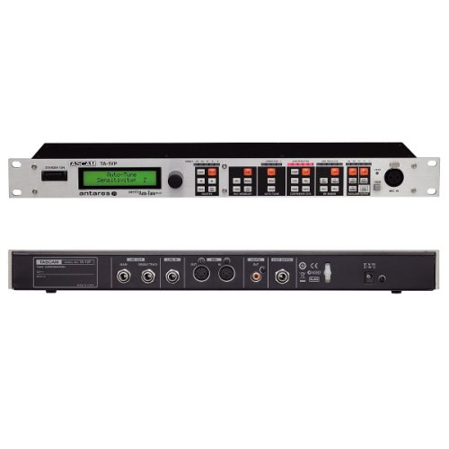 (Tascam TA-1VP | High-Performance Antares Auto-Tune Audio Technology Vocal Processor with Evo Real-Time Pitch Correction, Analog Tube Modeling Effect, and Flexible 2-Band Parametric EQ)