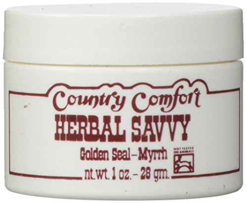 Country Comfort Herbal Savvy Golden Seal-myrrh - 1 Oz, 1 (Herbal Savvy Salve)