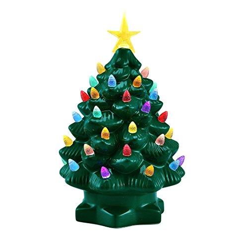 Mr. Christmas 10 Inch Nostalgic Christmas Tree - Green New (Tree Christmas Ceremic)