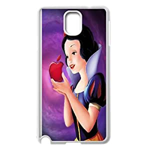 Snow White Princess Cartoon Productive Back Phone Case For Samsung Galaxy NOTE4 Case Cover -Pattern-11
