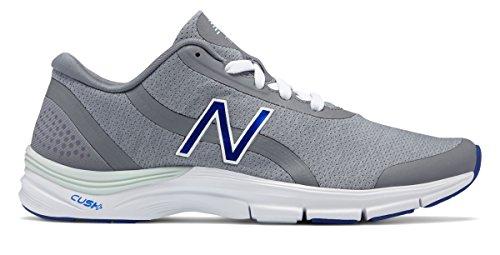 ペルースポーツの試合を担当している人再撮り(ニューバランス) New Balance 靴?シューズ レディーストレーニング 711v3 Heathered Trainer Steel with Blue Iris スティール ブルー US 8.5 (25.5cm)