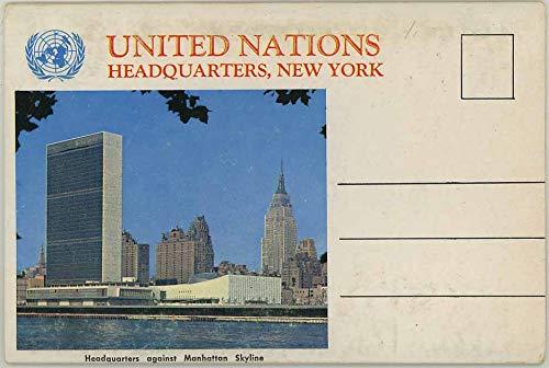 United Nations Headquarters - New York (1960's Souvenir Postcard Folder) (Souvenir Nation)