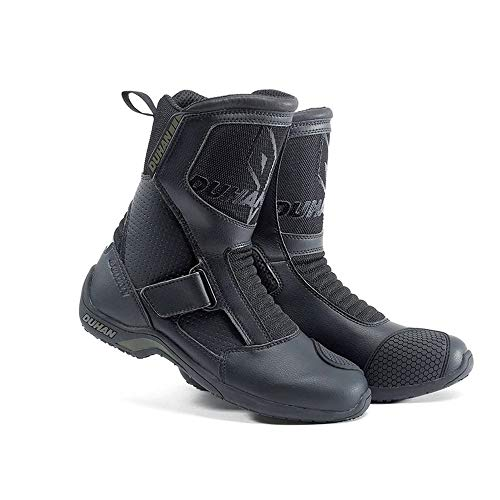 HEROBIKER Ankle Combat Boots Motorcycle Racing Military Tactical Outdoor Shoes Breathable Black