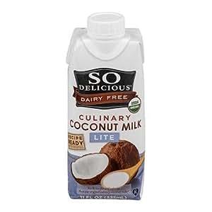 So Delicious Organic Culinary Coconut Milk Lite Dairy Free - 11 fl oz