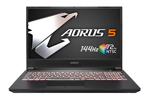 "Aorus 15.6"" FHD Intel Core i7-10750H, 16 GB DDR4, 512 GB SSD, GeForce RTX 2060, Windows 10 Home Gaming Laptop"