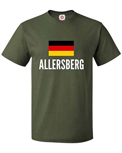 T Shirt Allersberg City Green Amazon De Bekleidung