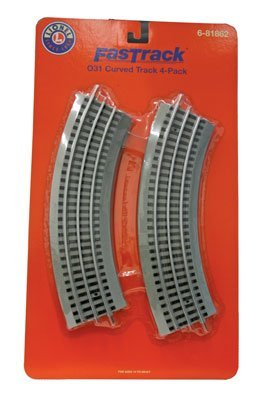 SP Whistle Stop LIO81862 O-31 FasTrack Curve44; Pack of 4 from SP Whistle Stop