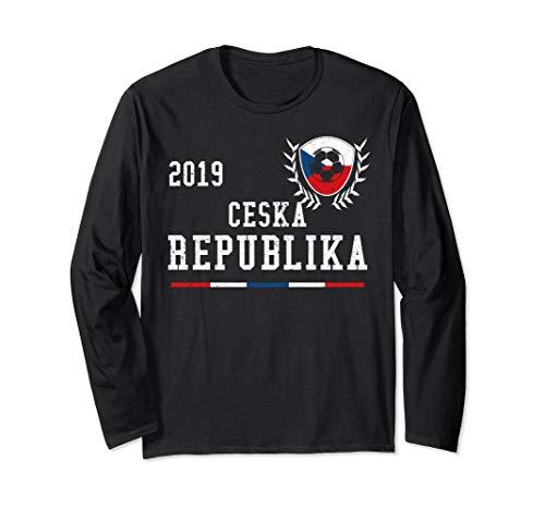 Czech Republic Football Jersey 2019 Czech Soccer Jersey Long Sleeve T-Shirt