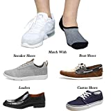 Jormatt 8 Pairs Men's No Show Socks Sneaker Shoes