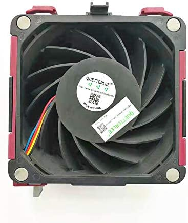 QUETTERLEE Replacement New CPU Cooling Fan for HP ProLiant DL580 G7 DL585 G7 DL980 G7 Series Fan 584562-001 591208-001 PFC0912DE-9F59 Fan