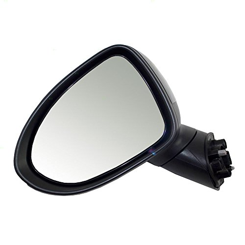 (Drivers Power Side View Mirror Heated Ready-to-Paint Replacement for Kia 876101W140 AutoAndArt)