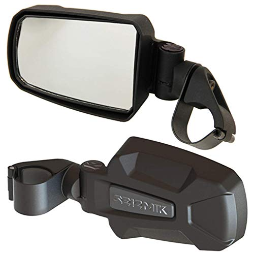 - Pursuit Side Mirrors - 1-3/4 Roll Cage For 2012 J Deer Gator HPX 4x4 Diesel Utility Vehicle