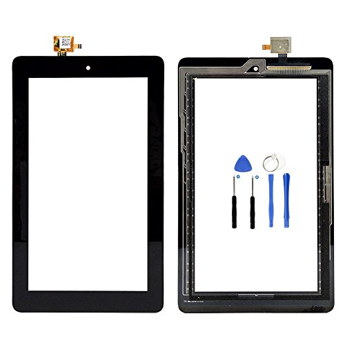 7 Inch For Amazon Kindle Fire 5TH 5 Gen 2015 SV98LN Touch Screen Glass+Tool