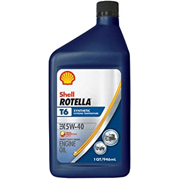Shell rotella t6 full synthetic heavy duty for Shell synthetic blend motor oil