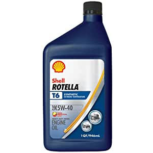 Shell rotella t6 full synthetic heavy duty for Shell synthetic motor oil