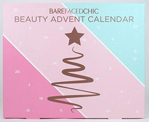 Bare Faced Chic Beauty Advent Calendar ! Look Chic in The Count Down to The Festive Season